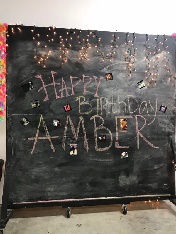 Happy Birthday Amber!!!