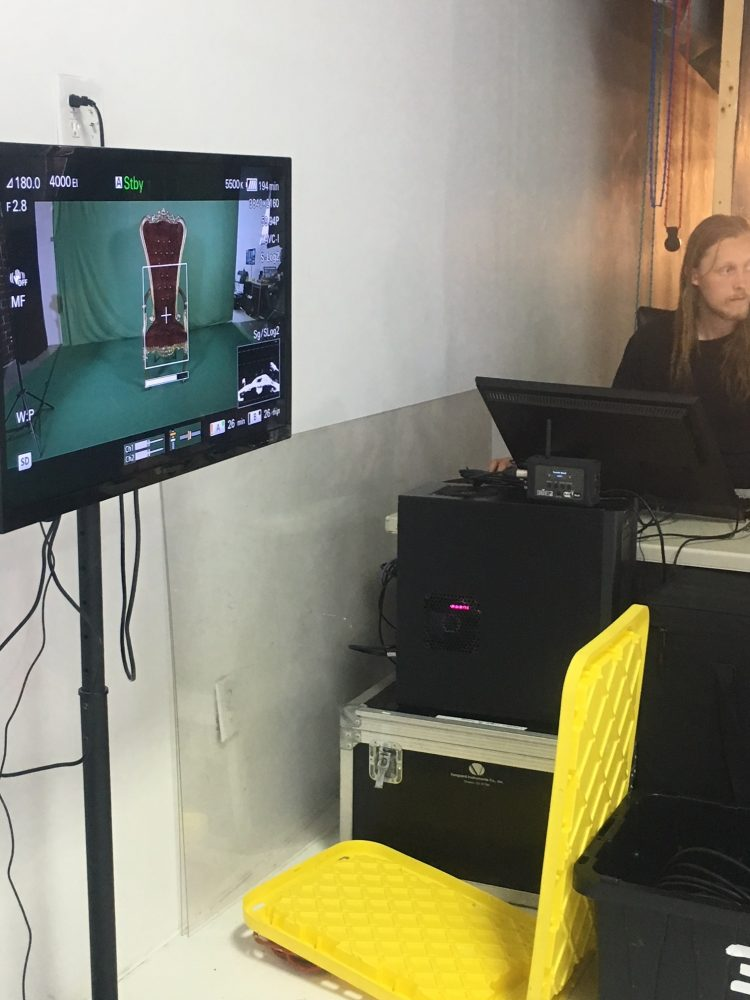 Behind the scenes of Cinemagic's Video Shoot